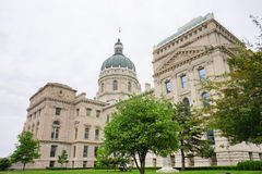 Indiana Capitol Building royalty-vrije stock afbeelding