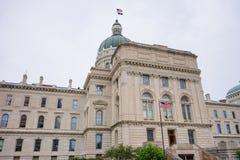 Indiana Capitol Building imagen de archivo libre de regalías