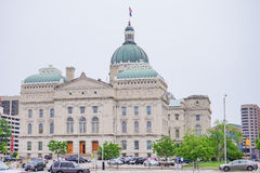 Indiana Capitol Building. Taken in Indianapolis stock photography