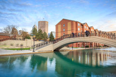 Indiana Central Canal royalty free stock photography