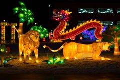 Indiana Chinese Lantern Festival fotografía de archivo libre de regalías