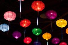 Indiana Chinese Lantern Festival stock photo