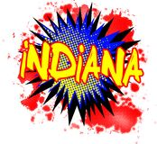 Indiana Comic Exclamation libre illustration