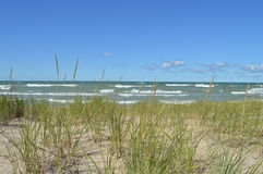 Indiana Dunes Beach Stock Images