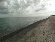 Indiana Dunes Kemil Beach imagens de stock royalty free