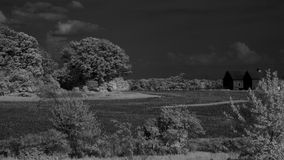 Indiana Farm IR Imagem de Stock Royalty Free