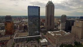 Indiana Indianapolis aérea almacen de video