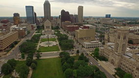 Indiana Indianapolis aerea archivi video