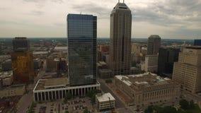 Indiana Indianapolis aerea video d archivio