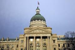 Indiana, Indianapolis - Capitólio do estado Foto de Stock Royalty Free