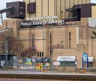 Indiana Public Service Company du nord Images libres de droits