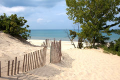 Indiana Sand Dunes Royalty Free Stock Photo
