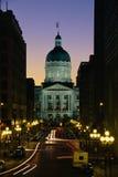 Indiana Stan Capitol budynek zdjęcie stock