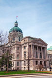 Indiana state capitol building Royalty Free Stock Image