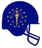 Indiana State Flag Football Helmet Fotos de archivo