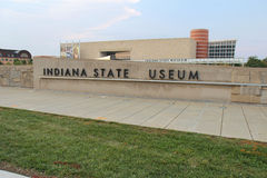 The Indiana State Museum in Indianapolis Royalty Free Stock Photos