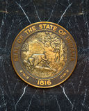 Indiana State Seal Stock Images