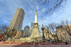 The Indiana State Soldiers and Sailors Monument Stock Image