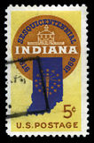 Indiana Statehood US Postage Stamp Royalty Free Stock Photography