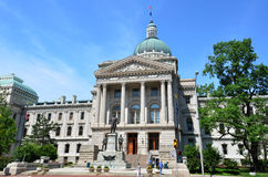 Indiana Statehouse Stock Photography