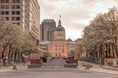 The Indiana Statehouse Royalty Free Stock Photos