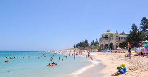 Indiana Tea House : Mode de vie de plage, Australie occidentale Photos stock