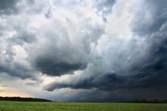 Indiana Thunderstorm Landscape Royalty Free Stock Photos