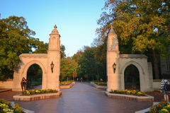 Indiana University Campus Royalty Free Stock Image