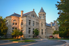 Indiana University. Historic Maxwell Hall at Indiana University (IU) in Bloomington, Indiana Royalty Free Stock Photo