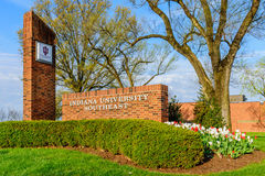 Indiana University Southeast New Albany Indiana Stockfotografie