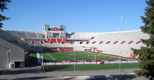 Indiana University Stadium - Big Ten Football Stock Images