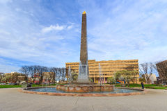 Indiana Veterans Memorial Plaza stock photo