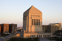 Indiana World War Memorial Royalty Free Stock Image