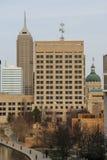 Indianapolis - śródmieście Zdjęcia Stock