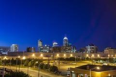 Indianapolis śródmieście, Indiana, usa obrazy stock