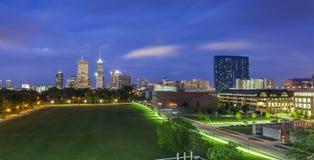 Indianapolis śródmieście, Indiana, usa fotografia royalty free