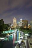 Indianapolis śródmieście, Indiana, usa obrazy royalty free