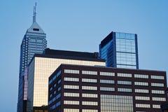 Indianapolis arkitektur Arkivbild