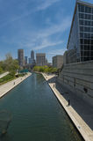 Indianapolis Canal Royalty Free Stock Photo