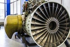 Indianapolis - cerca do janeiro de 2017: Exterior de uma Rolls royce F402 Pegasus Jet Engine (a) Imagens de Stock Royalty Free