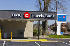 Indianapolis - Circa April 2016: BMO Harris Bank II Stock Afbeelding