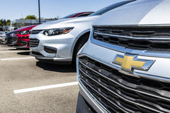 Indianapolis - Circa April 2017: Chevrolet Automobile Dealership. Chevrolet is a Division of General Motors V Royalty Free Stock Photo
