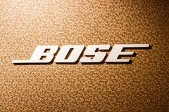 Indianapolis - Circa April 2018: Kleinhandels de wandelgalerijplaats van het Bosebedrijf Bose vervaardigt hoog eind audiomateriaa stock foto
