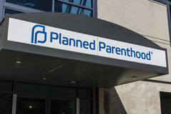 Indianapolis - Circa April 2017: Planned Parenthood Location. Planned Parenthood Provides Reproductive Health Services IV Stock Image