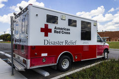 Indianapolis - Circa August 2016: American Red Cross Disaster Relief Van III Stock Photography