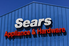 Indianapolis - Circa August 2016: Sears Appliance and Hardware Retail Location. Sears is a Subsidiary of Sears Holdings V Stock Photo