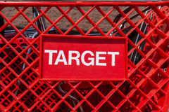 Indianapolis - Circa August 2017: Target Retail Store Baskets. Target Sells Home Goods, Clothing and Electronics XVIII. Target Retail Store Baskets. Target Sells royalty free stock photo