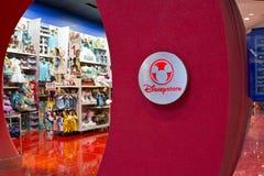 Indianapolis - circa febbraio 2016: Posizione del centro commerciale di vendita al dettaglio di Disney Store Immagini Stock Libere da Diritti