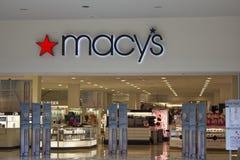 Indianapolis - Circa Februari 2016: Het Warenhuis van Macy Royalty-vrije Stock Afbeelding