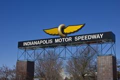 Indianapolis - Circa Februari 2016: Indianapolis Motor Speedway III Arkivfoton